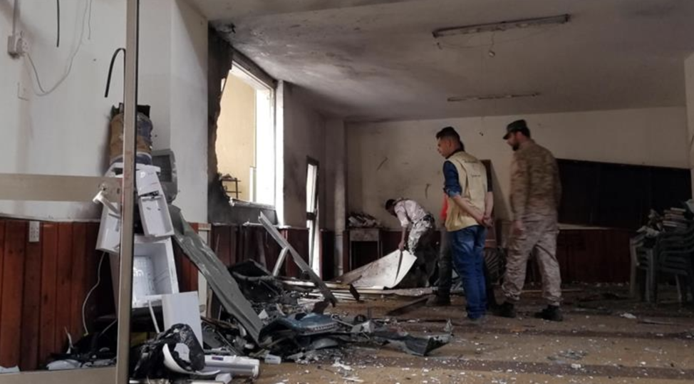 The inside of the mosque after a bombing in Benghazi, just one instance of the violence that has plagued Libya since 2011. ( http://www.aljazeera.com/news/2018/02/deadly-mosque-blast-hits-libya-benghazi-180209132803569.html )