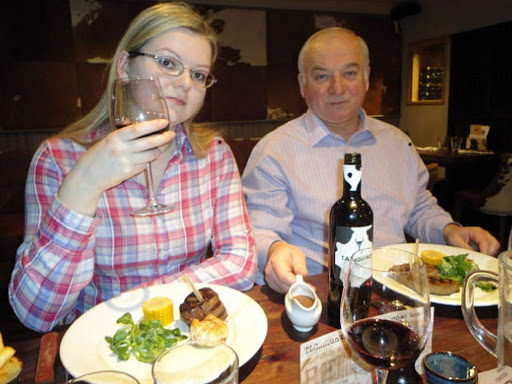 Yulia Skripal (left) and Sergei Skripal (right) have both been poisoned