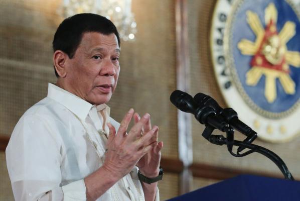 Photograph  of President Duterte