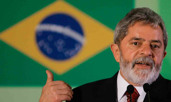 Photo: The former president of Brazil, Luiz Inácio Lula da Silva, expected to start serving a 12-year prison sentence for corruption on Friday.Source: New Vision
