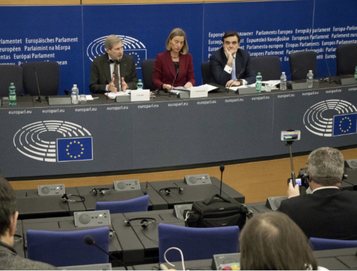 European Commission in February on enlargement strategy  source