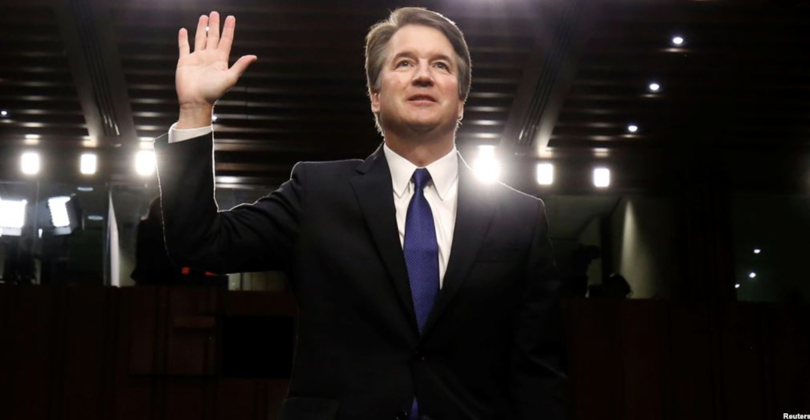 [Photo: Brett Kavanaugh. Source: Reuters]