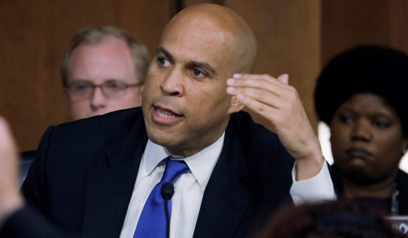 [Photo: Cory Booker. Source:  Jim Bourg ]