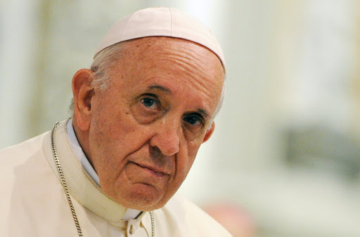 Photo: Pope Francis who recently expelled disgraced priest Cristian Precht Bañado. Source: Guglielmo Mangiapane — Reuters