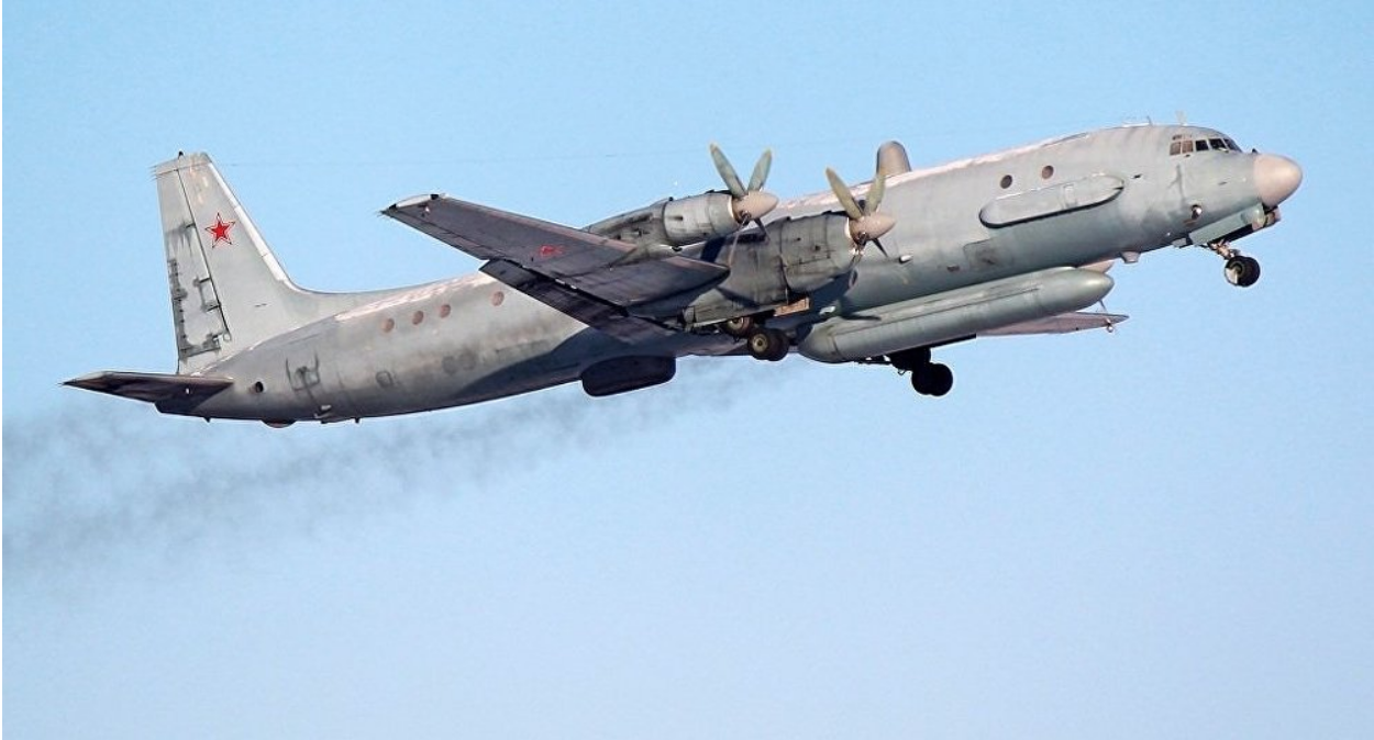 An II-20 Russian military plane. This is not the plane that was shot down, it just pictures the version of the plane that was shot down in September 2018. Credit: Kirill Naumenko/ Wikipedia