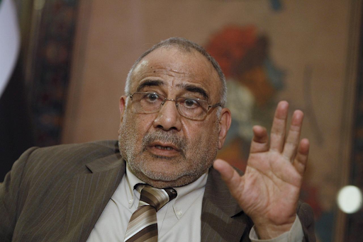 Iraq's Oil Minister Adel Abdel Mahdi speaks during an interview with Reuters in Baghdad March 26, 2015. Photo: Ahmed Saad/Reuters