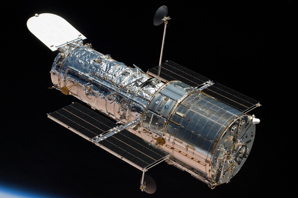 Last week, NASA ran into multiple issues with the gyroscopes that operate the Hubble Space Telescope.  Photo Credit: NASA