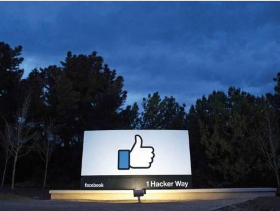 The entrance to Facebook's office in California. Facebook will help users identify if they have been the victims of the hack. Credit:    AFP