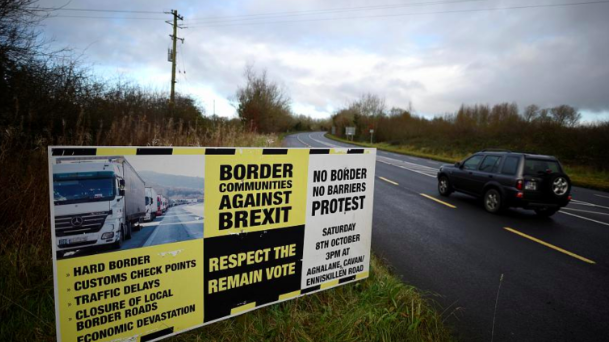 The Irish border remains a contentious issue in Brexit negotiations. Credit: Reuters