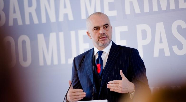 Edi Rama, the Prime Minister of Albania since September 2013. Credit:  Prime Minister's Office, Albania