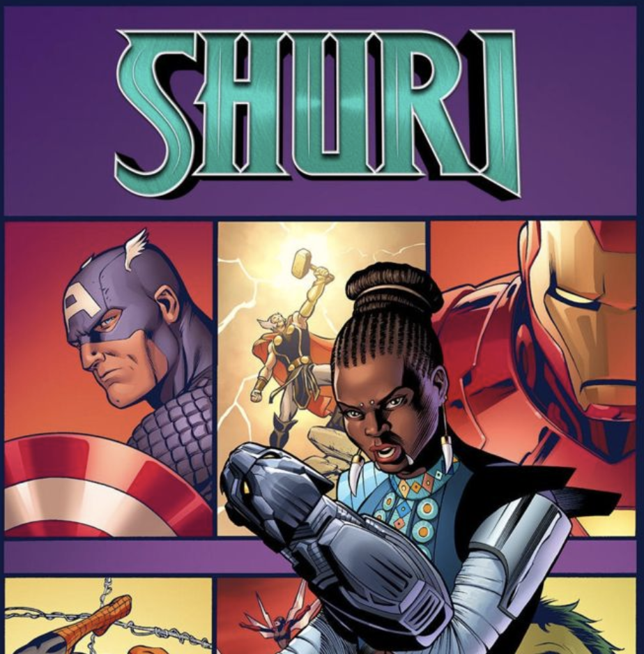 """""""Shuri #1"""" is the first in a series of comics inspired by Black Panther. Photo:  BBC ."""