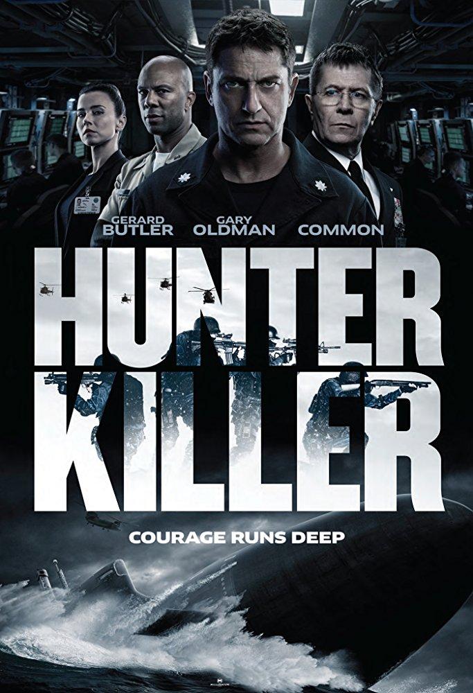 Hunter Killer poster. Photo:  IMDb