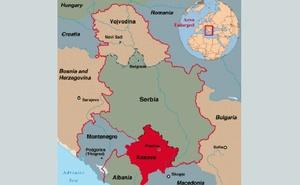 Map of Serbia and Kosovo. Credit:  bdnews24