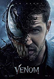 Venom  theatrical poster. Photo:  IMDb