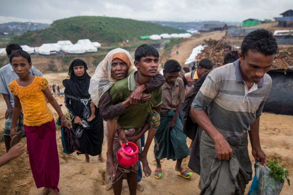 Rohingya refugees in Bangladesh;  Photo: UNHCR