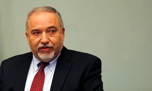 Announcing his resignation, Lieberman warned of 'severe long-term damage to national security'. Credits: Ammar Awad/Reuters