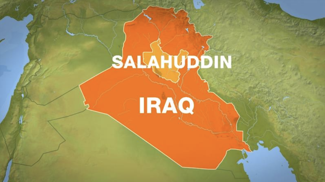Thousands of people in Iraq's Salahuddin (also Saladin) province have been displaced by flooding.  Credit : Al Jazeera