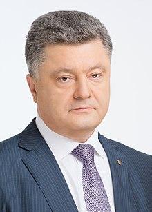 President Petro Poroshenko. Credit:  Wikipedia
