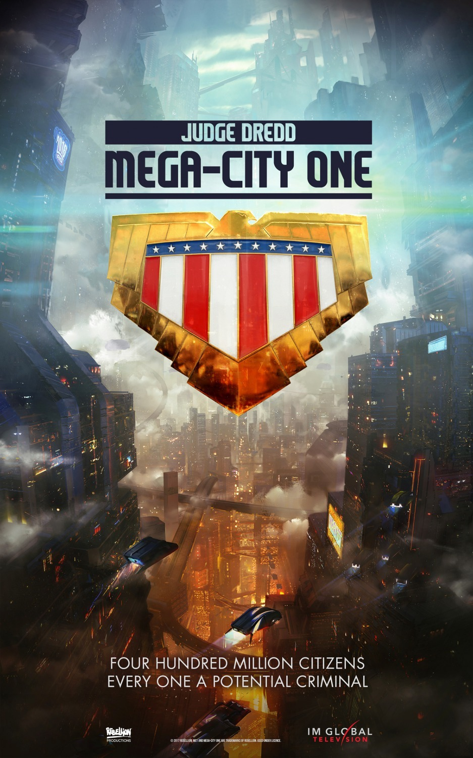 Mega City One  poster. Photo:  IMDb