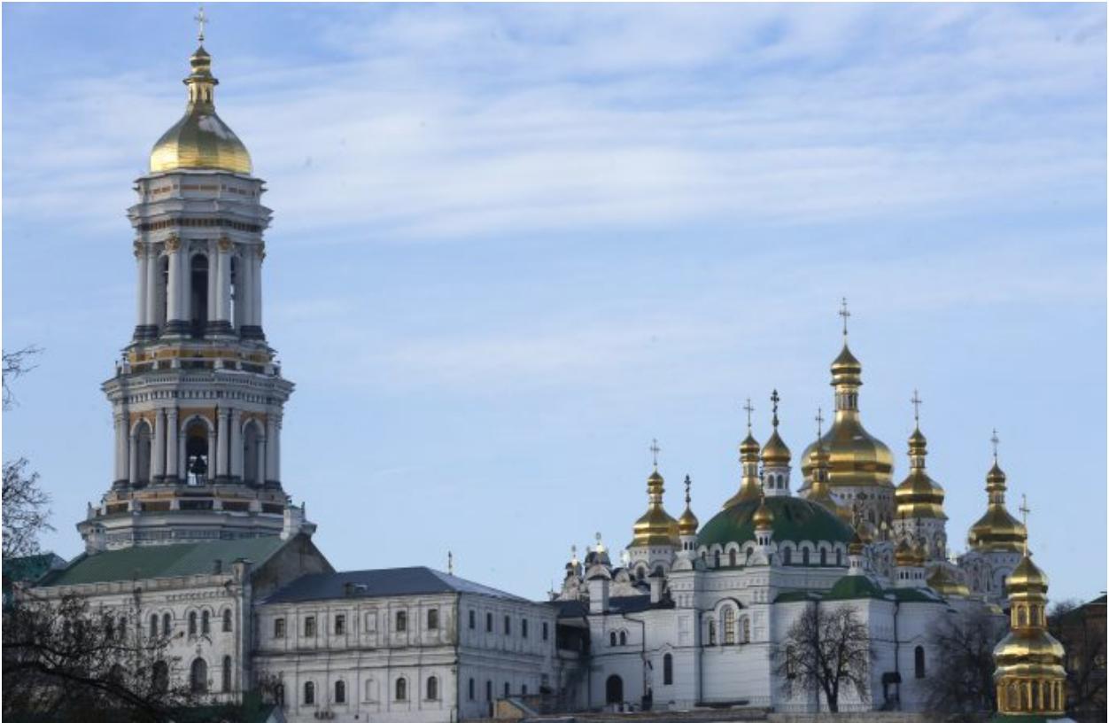 Monastery of Caves in Kiev, Ukraine. Credit:  Associated Press/Efrem Lukatsky