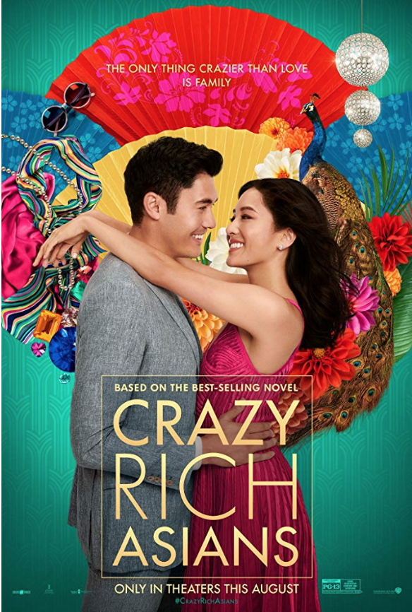 Crazy Rich Asians  domestic release poster. Photo:  IMDb