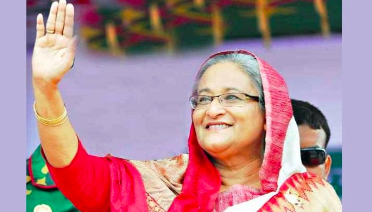 Prime Minister Sheikh Hasina; Photo:  Daily Sun