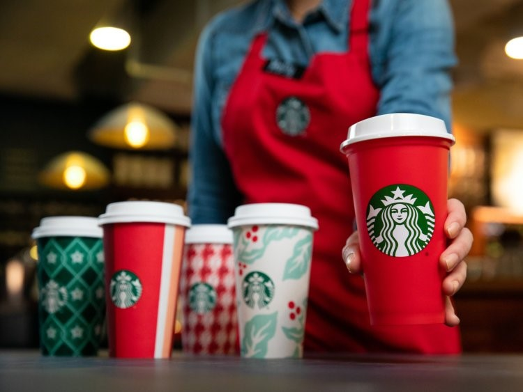 Starbucks will begin offering delivery services at around 2,000 stores in the US. Photo:  Starbucks .