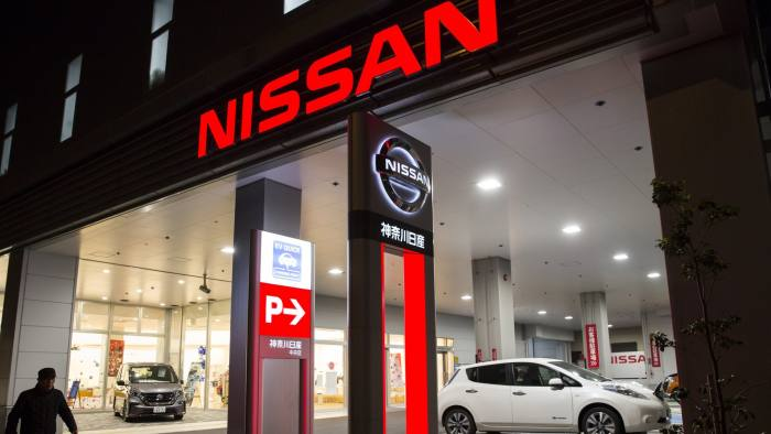 Nissan is facing S.E.C. charges amid Ghosn accusations. (Photo:  Bloomberg )