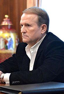 Viktor Medvedchuk. Credit:  Wikipedia