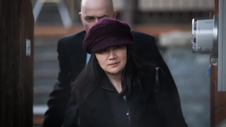 Huawei Executive Meng Wanzhou Heading to Court  Photo:  Darryl Dyck/The Canadian Press