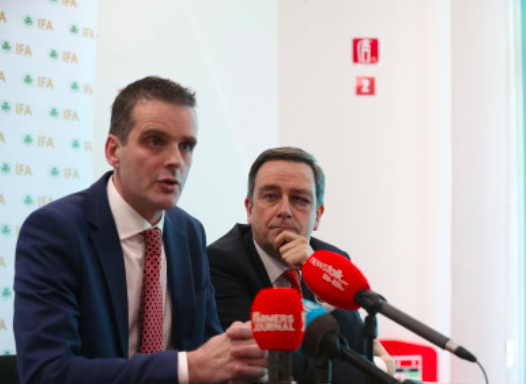 President of the Irish Farmers' Association Joe Healy requested last week that, in the case of a no-deal Brexit, the government commits to supporting farmers. Photo:  Sam Boal/Rolling News