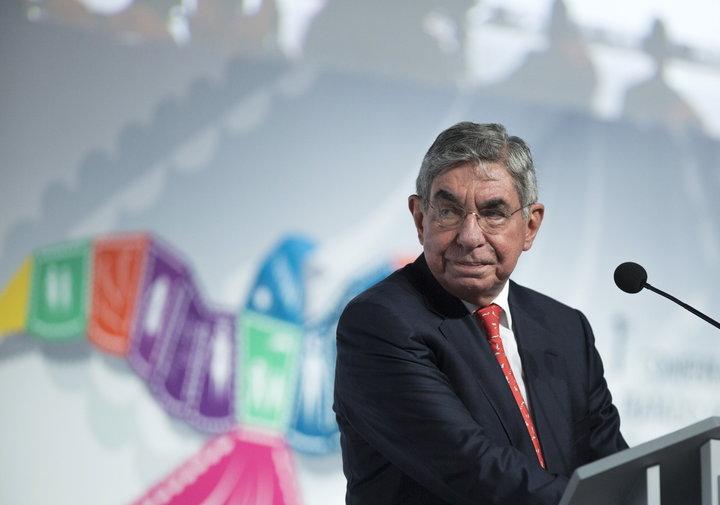 Óscar Arias in 2015. Photo:  Victor Ruiz Garcia/Reuters