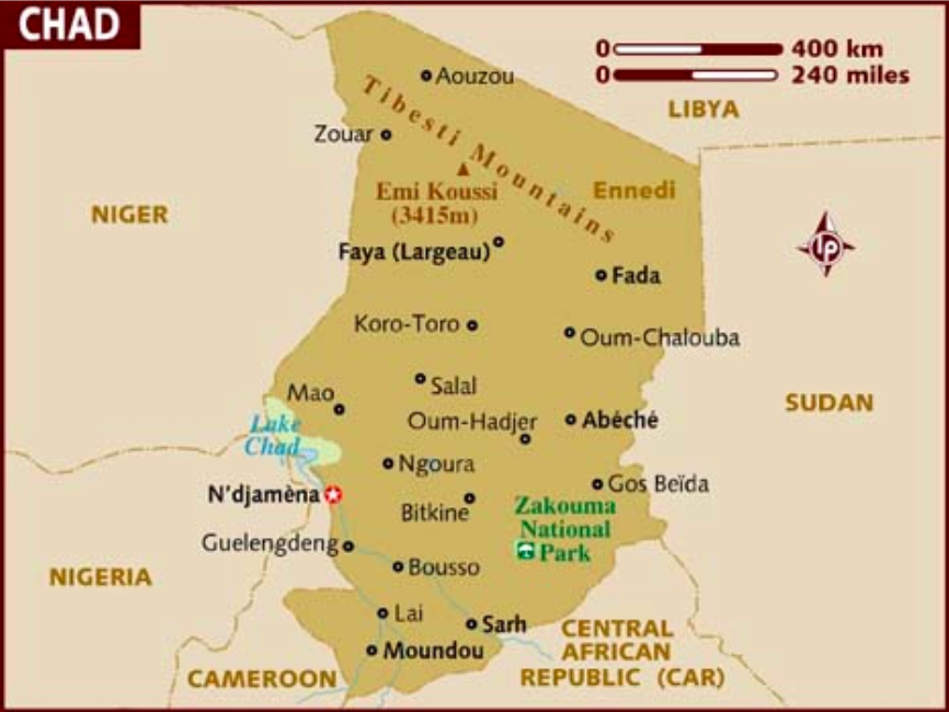 Rebels were captured in Chad's Ennedi region after crossing into the country from Libya. Photo:  Lonely Planet .
