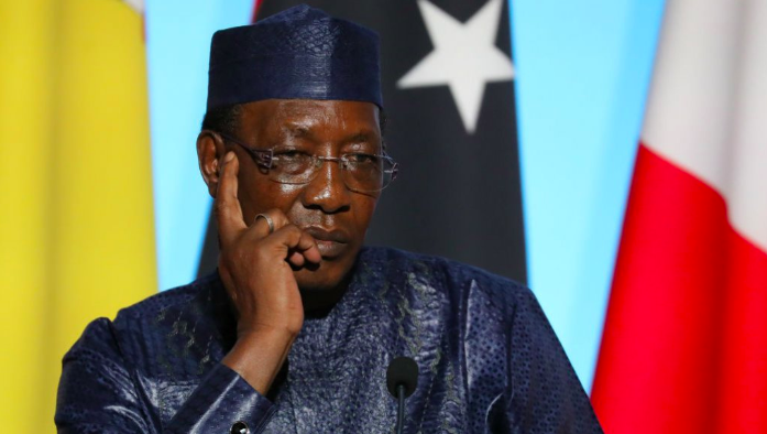President Idriss Déby seized power in a coup d'etat in 1990. Due to recent amendments in Chad's constitution, Déby has the potential to remain in office until 2033. Photo:  France24 .