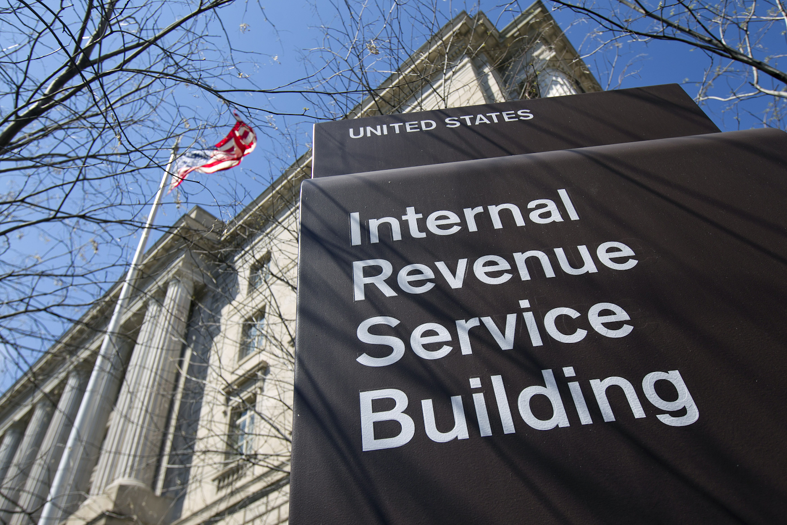 The Internal Revenue Service Building Source (Photo:  Fortune )