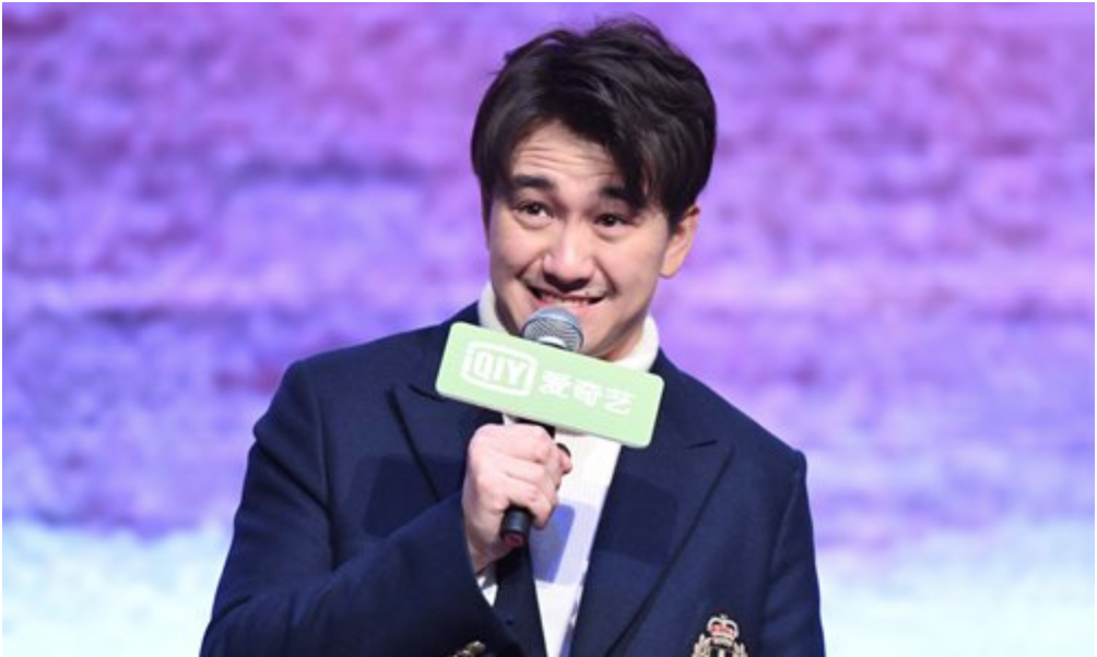 Television celebrity Zhai Tianlin attending an event in 2018, Photo: IC |  The Global Times