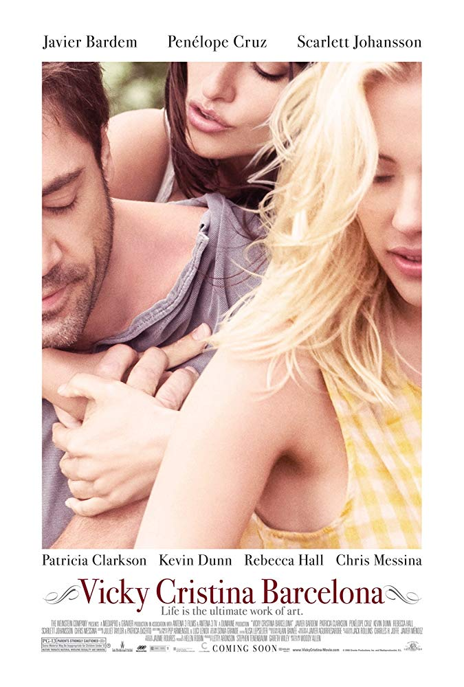 Poster for  Vicky Cristina Barcelona.  Photo:  IMDb