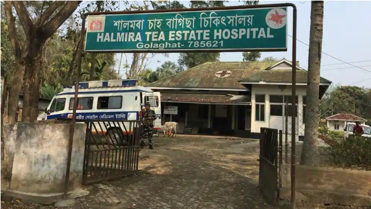 The first four victims of alcohol poisoning in Golaghat were admitted in the local Halmira Tea Estate Hospital. Source:  HT