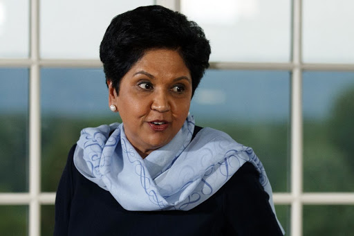Indra Nooyi stepped down as PepsiCo's CEO last year. Photo:  Carolyn Kaster - Associated Press