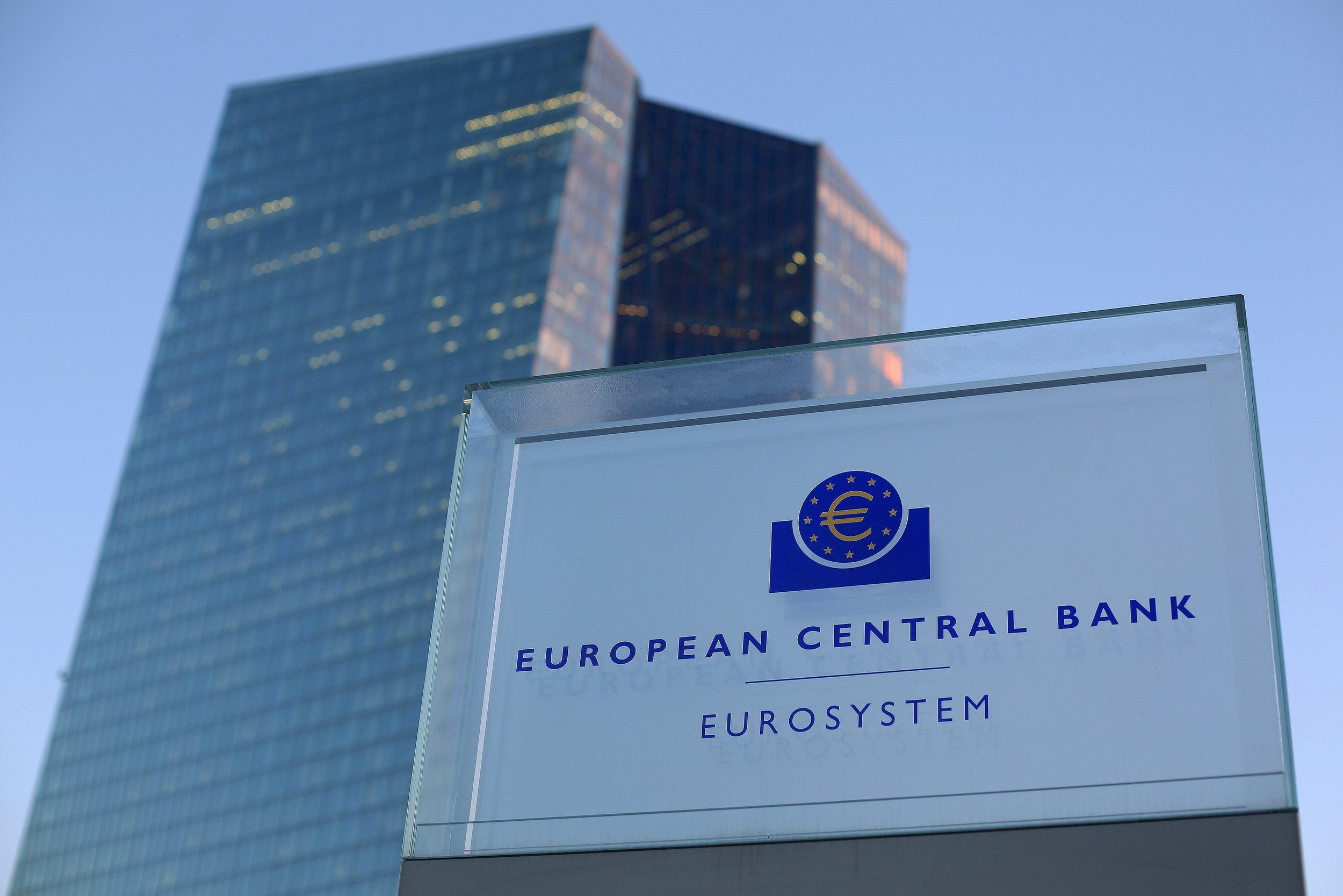 European Central Bank. Photo.    Source: Wall Street Journal