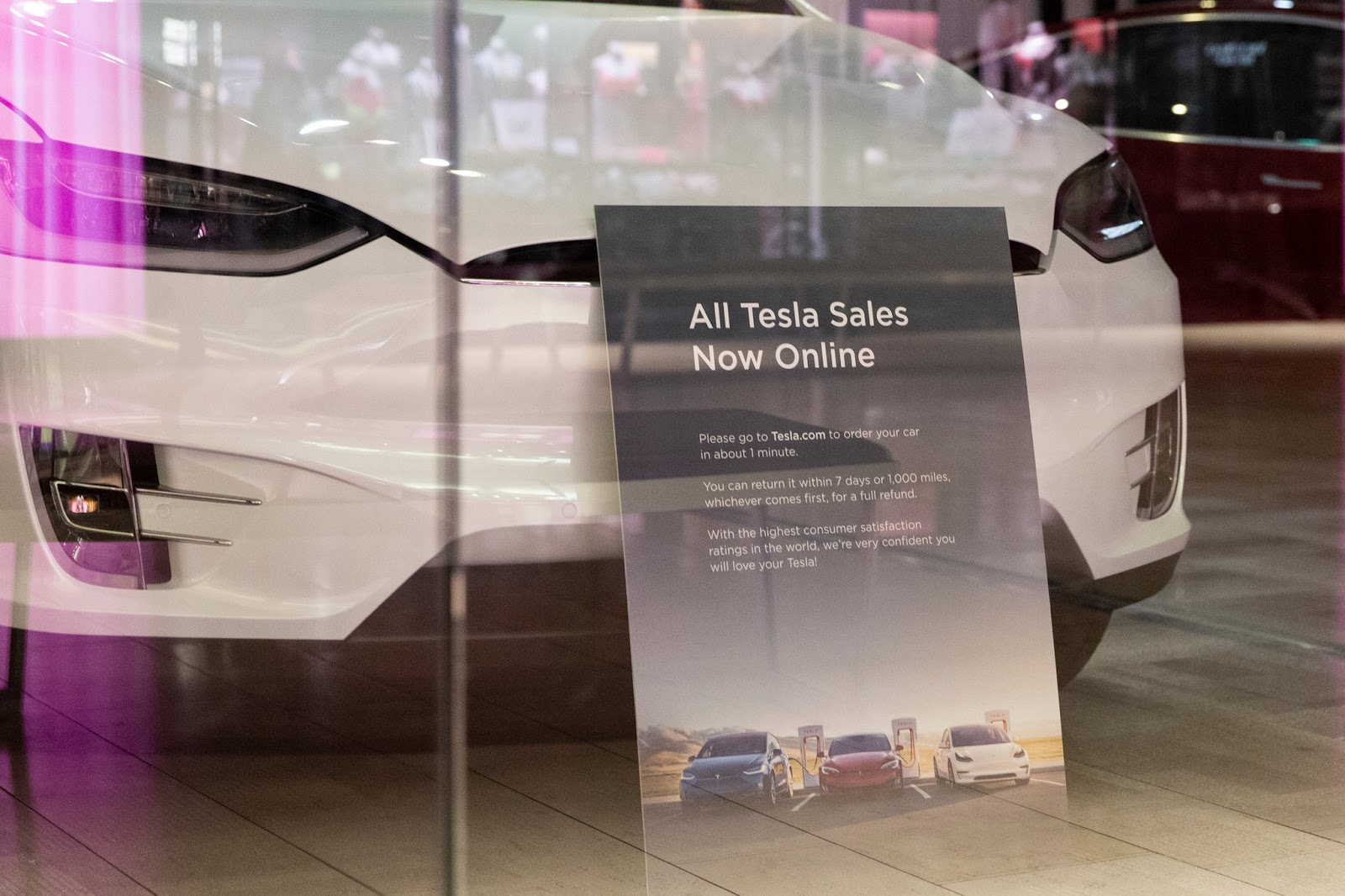 Tesla CEO Musk said that over 75 percent of Model 3 cars were already ordered online. Photo:  Laura Buckman - The New York Times