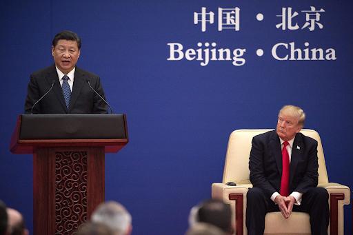 The US/China trade war helped exacerbate the US trade deficit. Photo:  Nicolas Asfouri,Politico