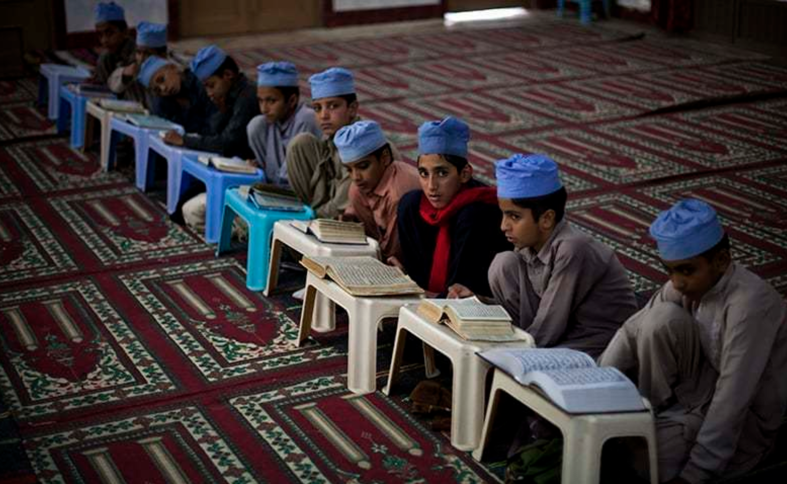 Several madrasahs and seminaries have been shut down or taken over by the government for their connection to Islamist militant groups. Photo:  Dawn Via AFP
