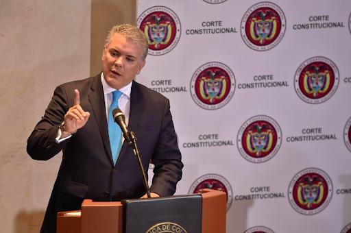 President Iván Duque. Photo:  Reuters