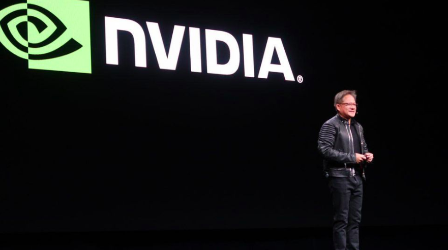 Jensen Huang, Nvidia's CEO, speaks at a technology conference in 2017. Photo: Tirias Research /  Forbes