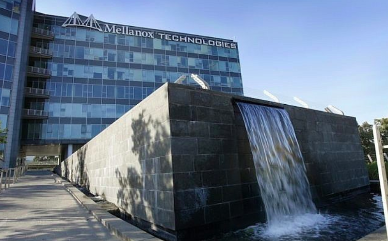 Mellanox's headquarters in Yokne'am, Israel. Photo: Moshe Shai /  The Times of Israel