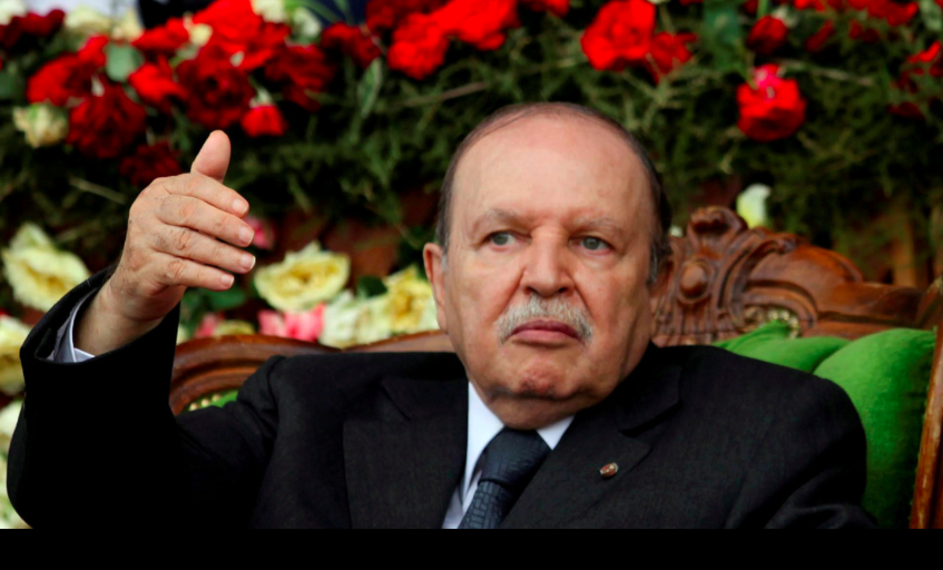 A photo of Algerian President Abdelaziz Bouteflika from 2012.  Photo : Ramzi Boudina/Reuters