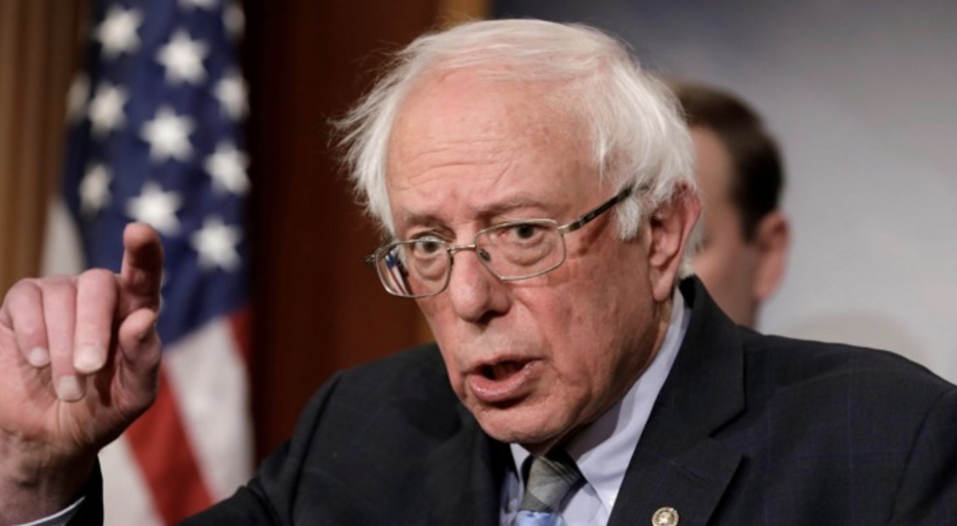 Senator Bernie Sanders is leading the crowded primary field with a total of $18.2 million. Photo: Yuri Gripas/ Reuters