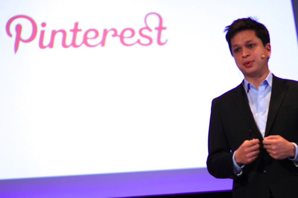 Pinterest CEO and Co-founder, Ben Silbermann on stage in Tokyo at the Japan New Economy Summit. Photo:  The Bridge