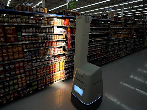 Walmart's robots include shelf scanners, floor scrubbers, and truck unloaders. (Photo:  David Phillip - AP Images )